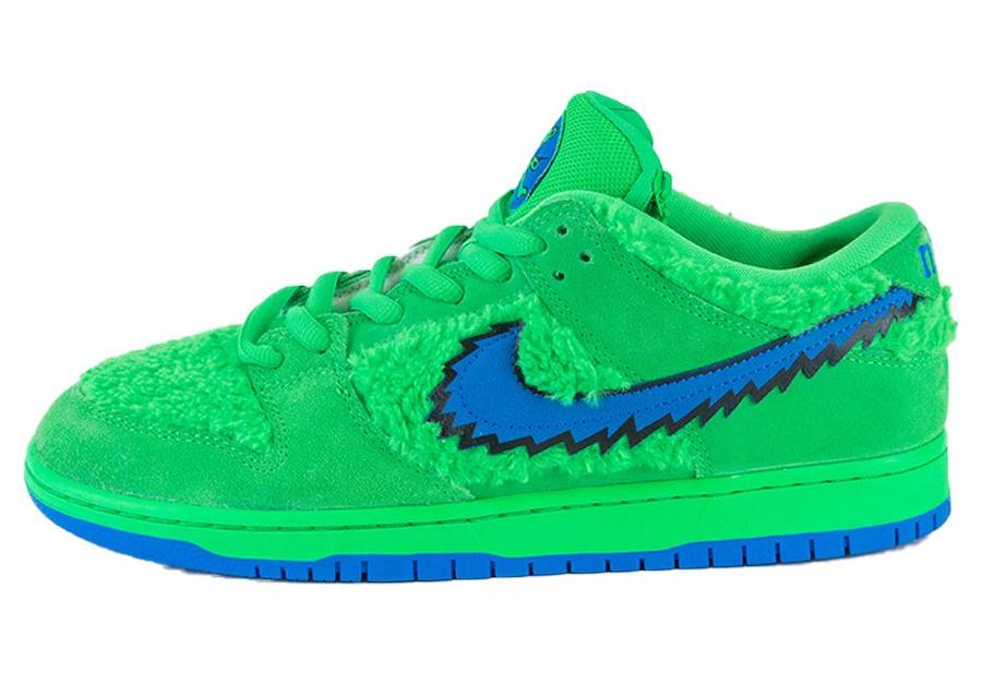 Grateful-Dead-Nike-SB-Dunk-Low-Green-Bear-CJ5378-300
