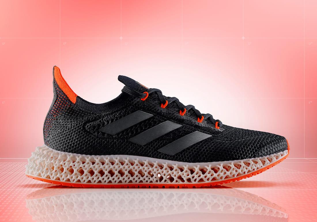 adidas-4DFWD-Black-Solar-Red-FY3963 side