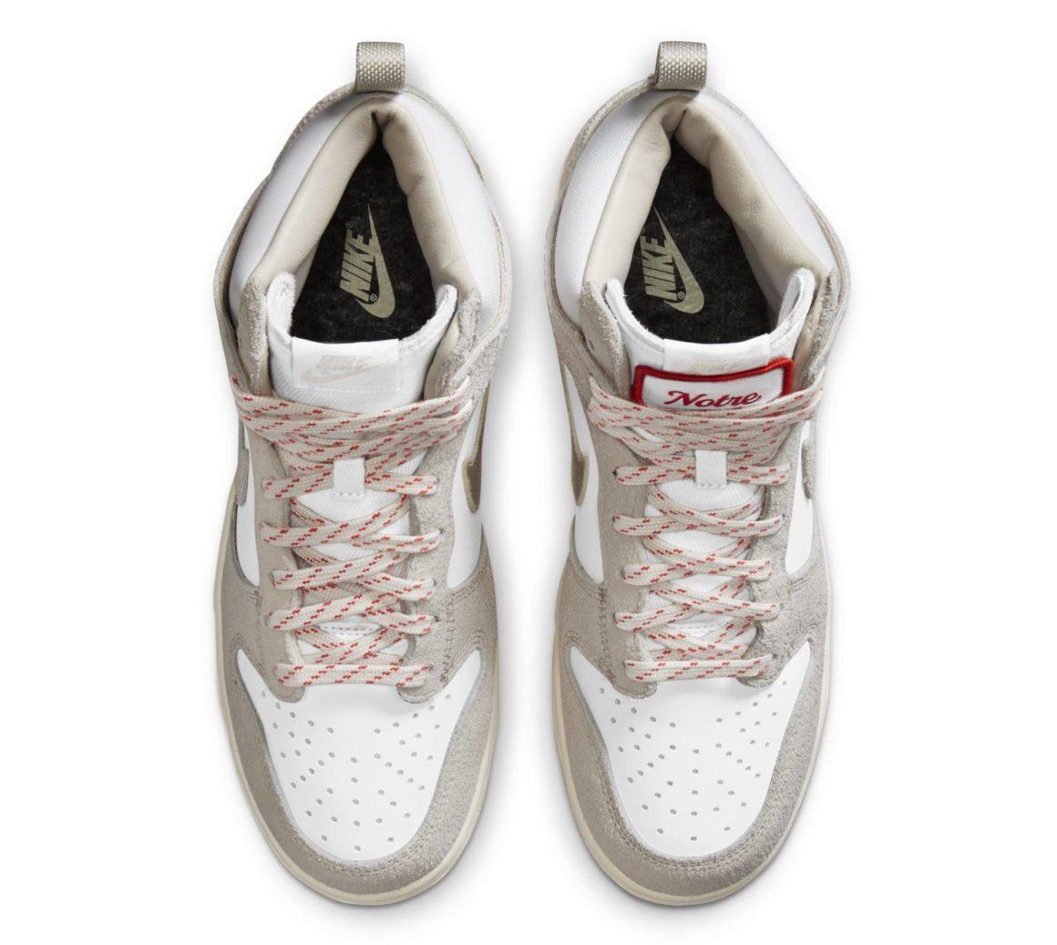 Notre x Nike Dunk High cw3092-100