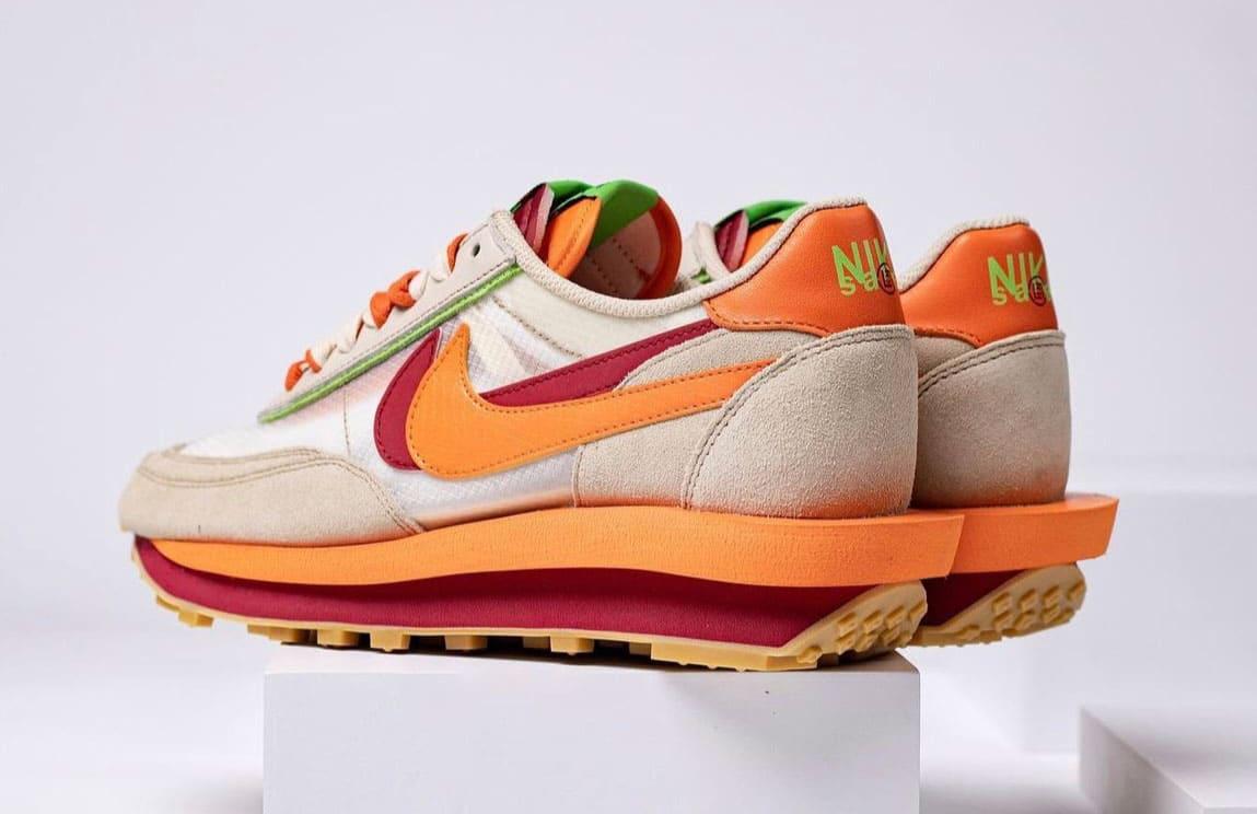 2 Clot-Sacai-Nike-LDWaffle-DH1347-100 Backview