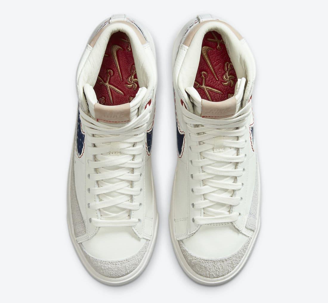 Denham x Nike Blazer Mid CU8054-100