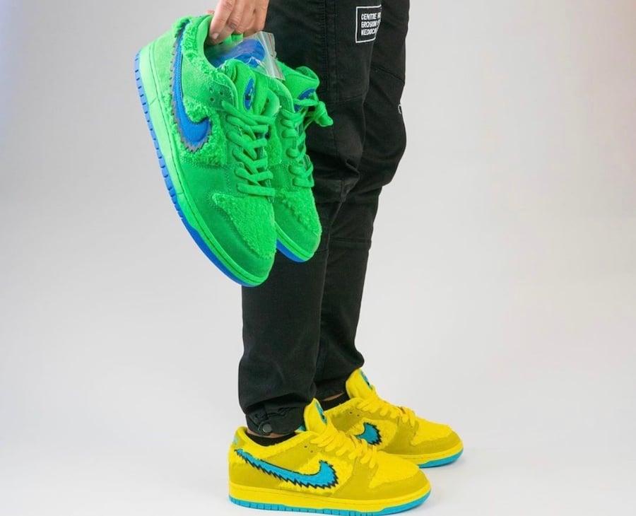 Grateful-Dead-Nike-SB-Dunk-Low-Green-Bear-CJ5378-300