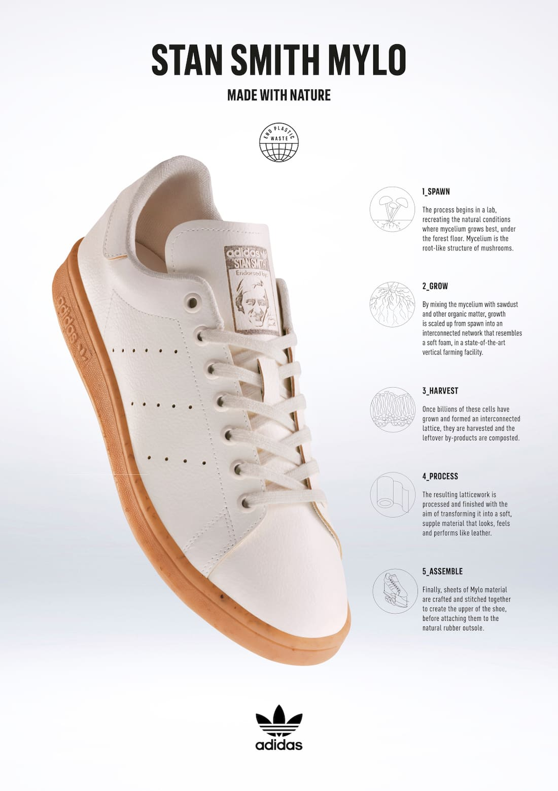 adidas Stan Smith Mylo H23049