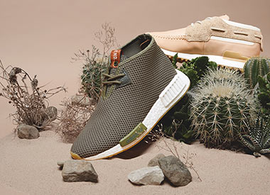 adidas Consortium x END. Clothing ZX 700 Boat & NMD Chukka