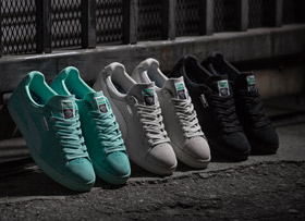 Puma x Diamond Supply Suede Kollektion