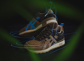 "asics Tiger x Mita Sneakers GT II ""Squirrel"""