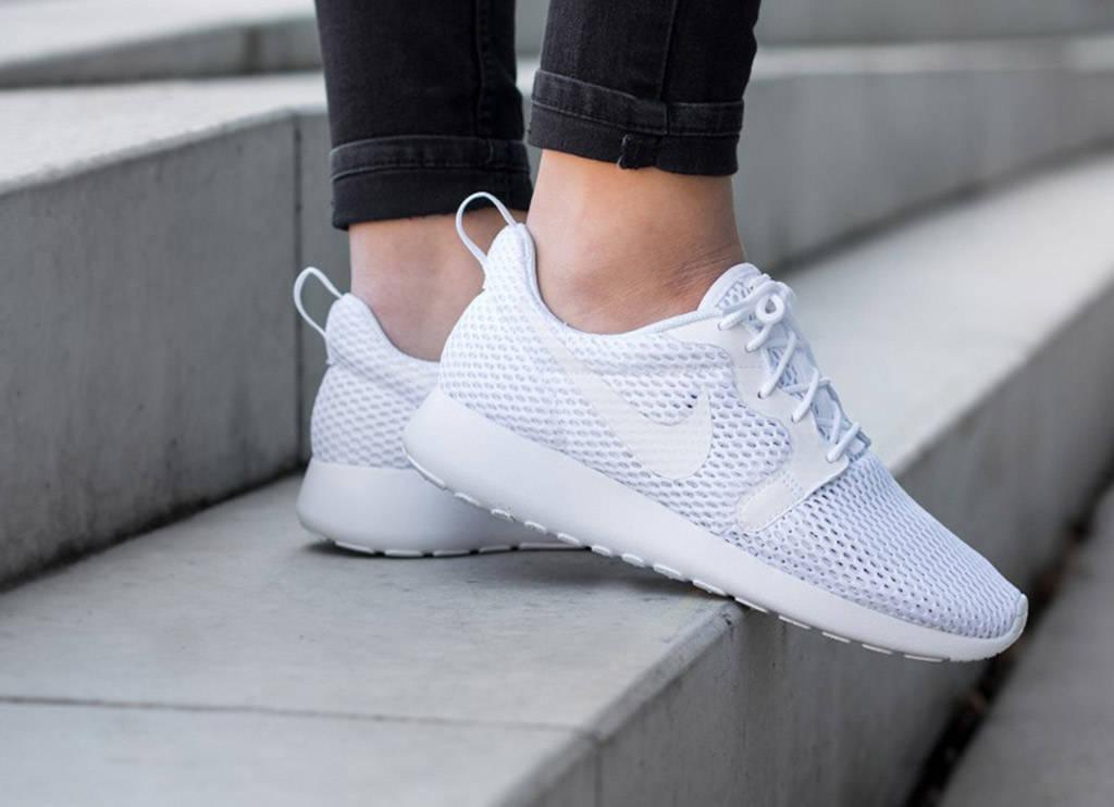 Weiße Sommer Sneaker