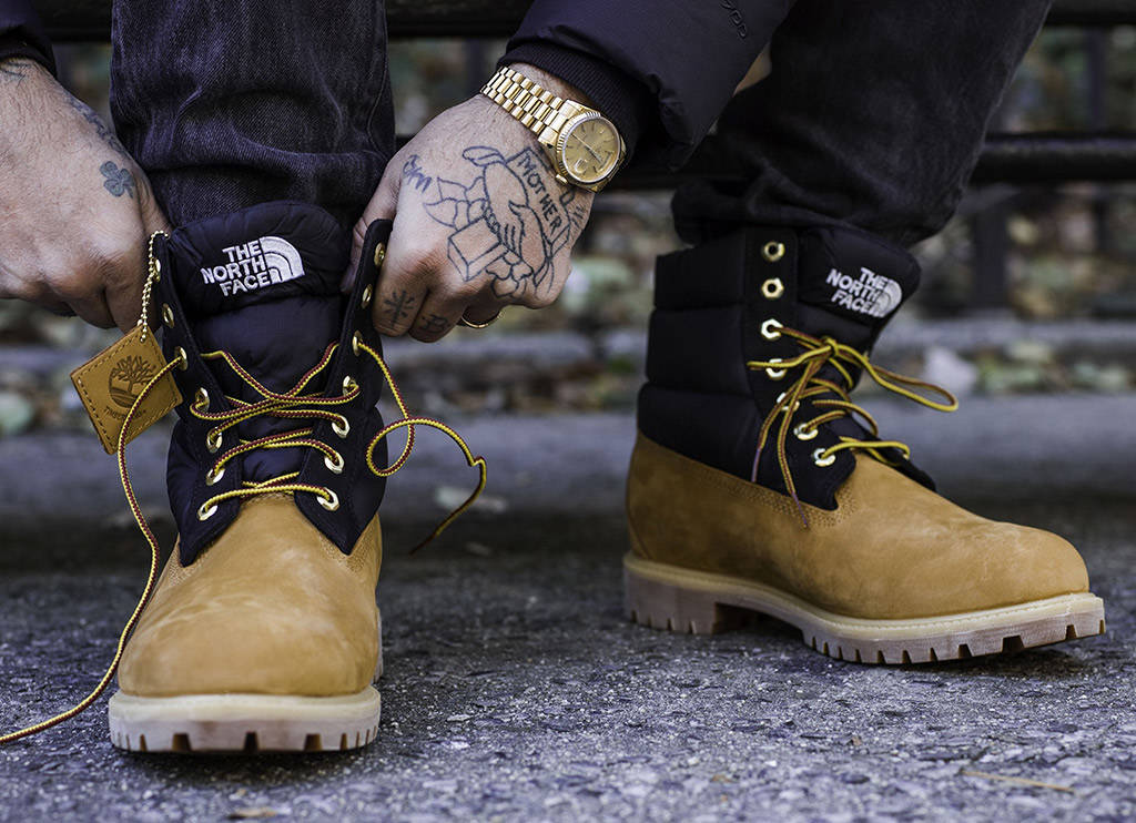 The North Face x Timberland Nuptse Boot