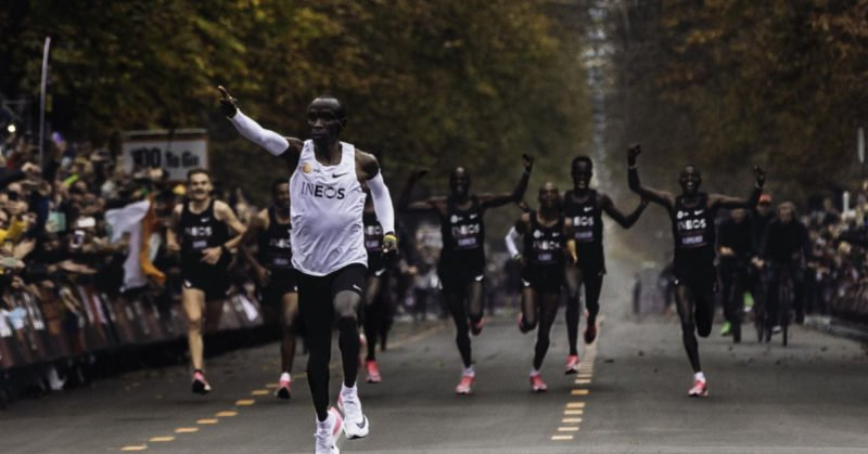 Eliud Kipchoge Nike Next%