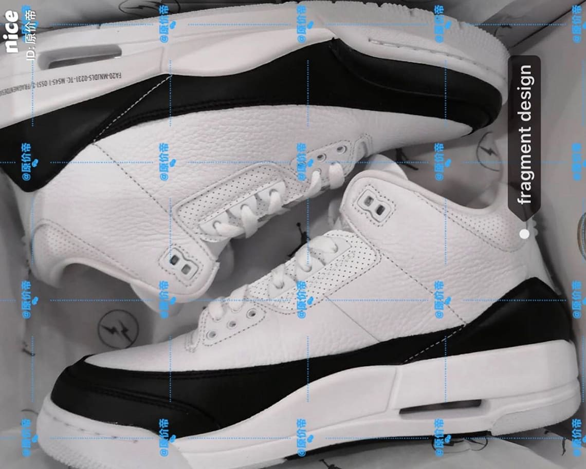 Fragment-Air-Jordan-3-Black-White