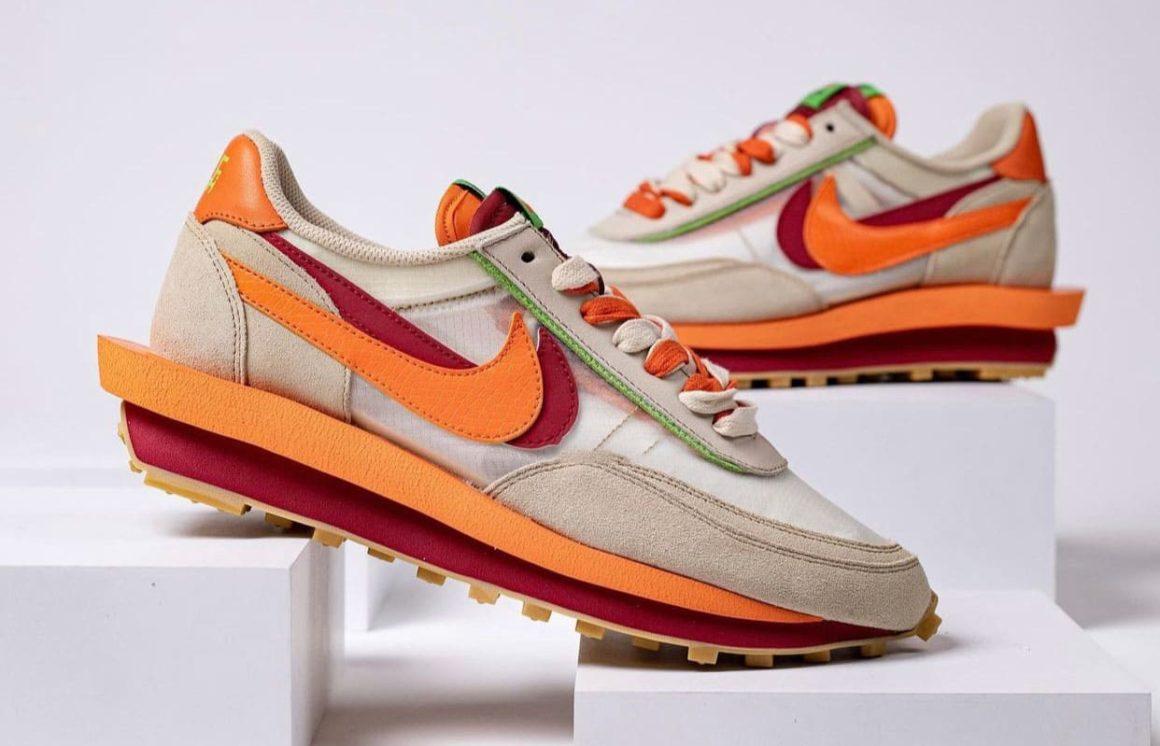 Clot-Sacai-Nike-LDWaffle-DH1347-100 Sideview 2