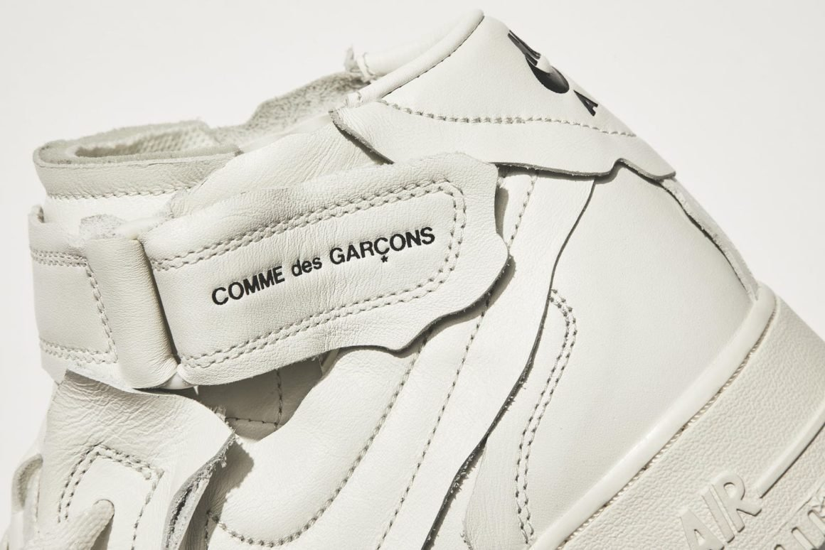 Comme des Garcons x Nike Air Force 1 Mid DC3601-100