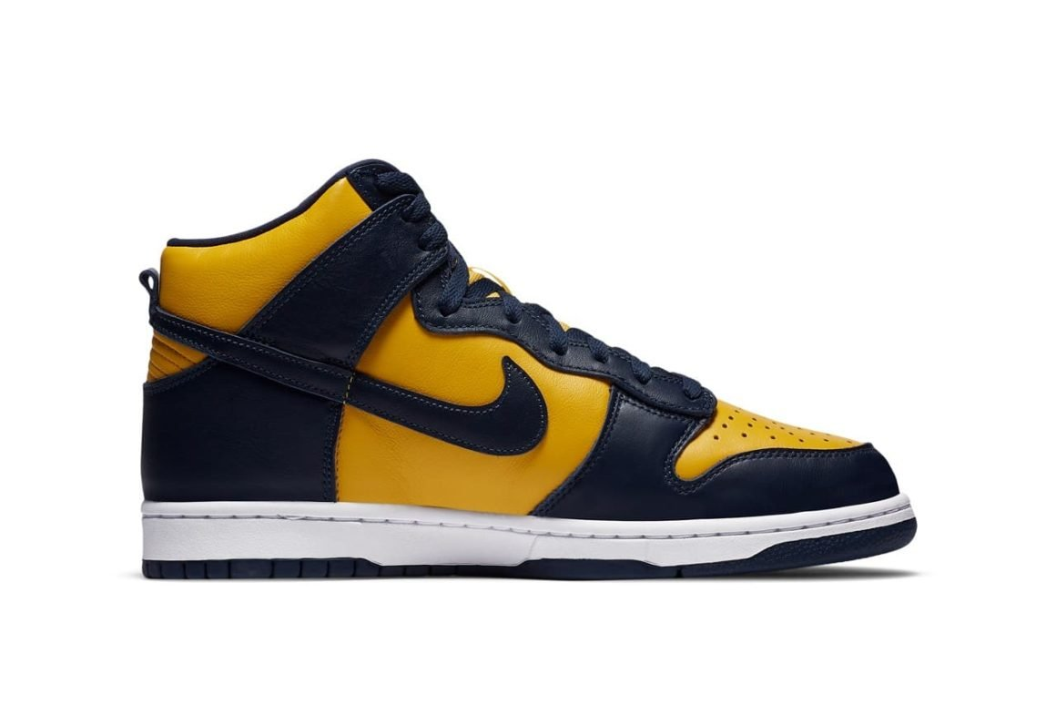 Nike Dunk High SP Michigan CZ8149 700