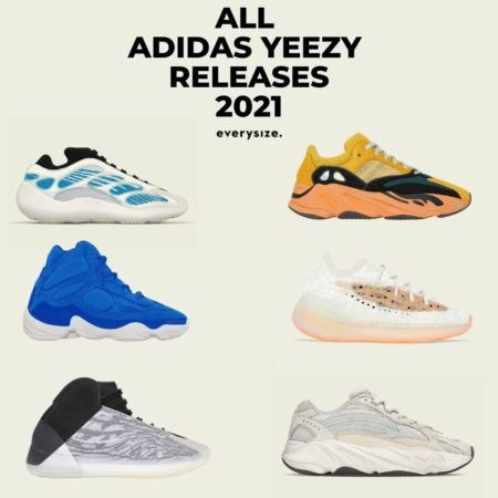 ALL ADIDAS YEEZY RELEASES 2021-