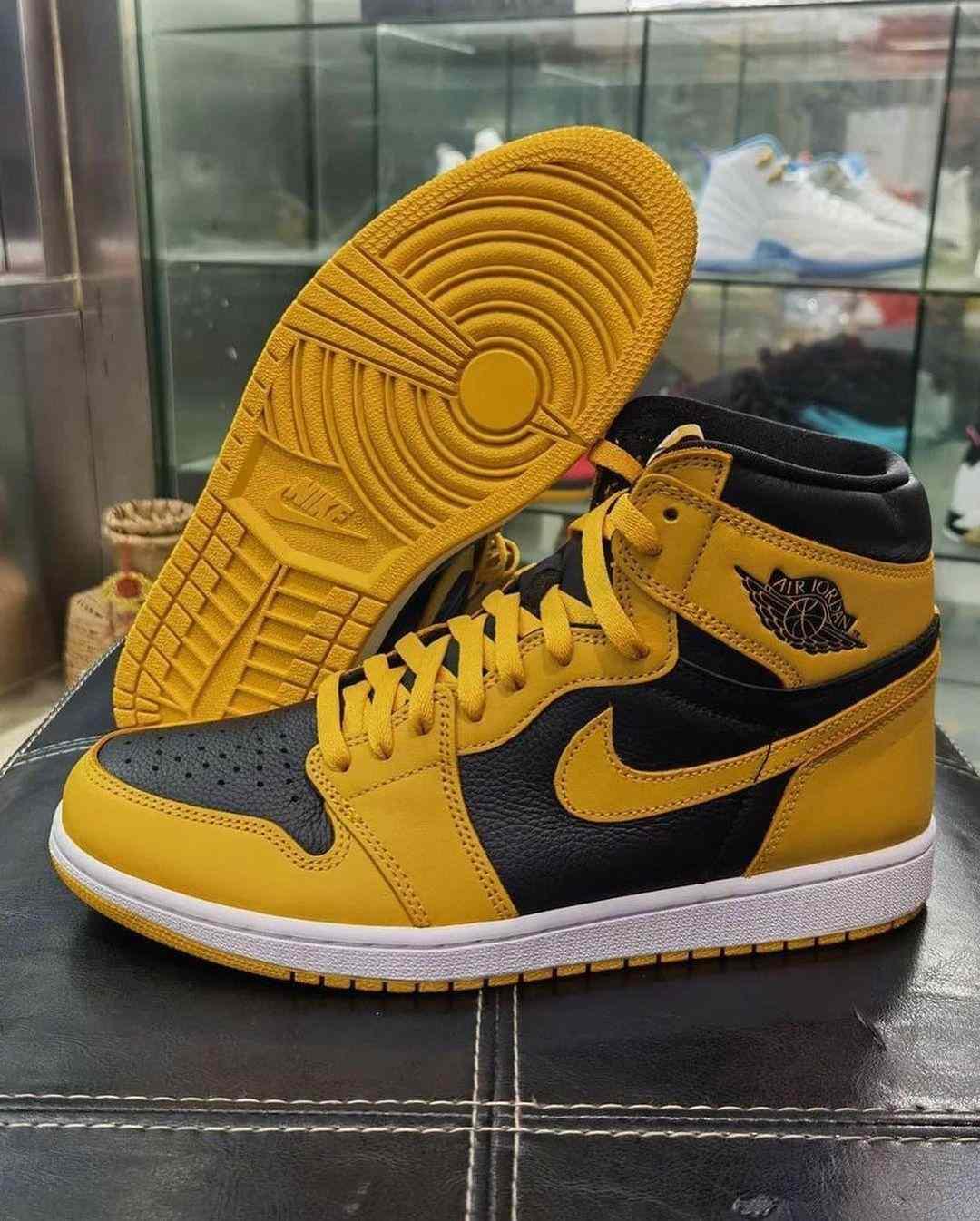 """Air Jordan 1 High OG """"Pollen"""" Release"""