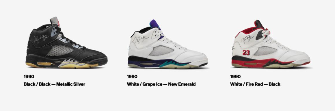 Air Jordan 5 OG Colorways