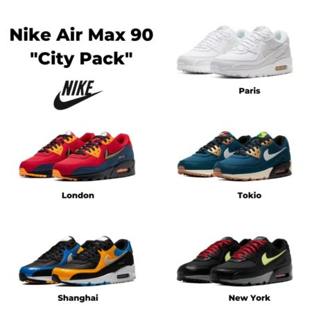 Air Max 90 City Pack