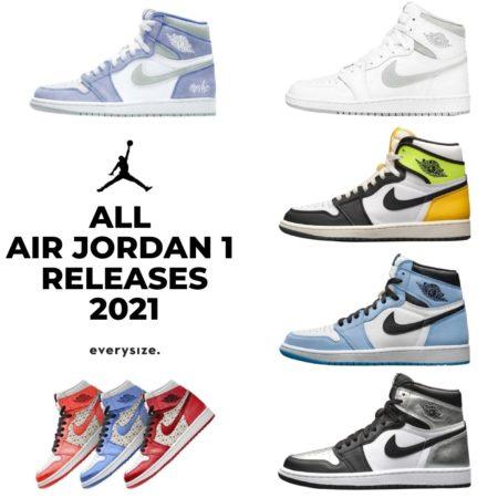 Alle Jordan Releases 2021