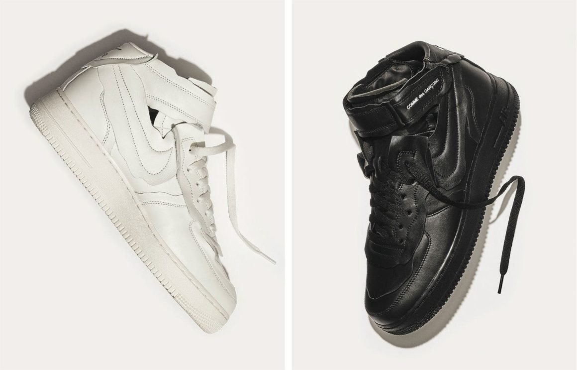 Comme des Garcons x Nike Air Force 1 Mid