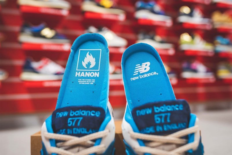 Hanon x New Balance 577 Flimby Legend