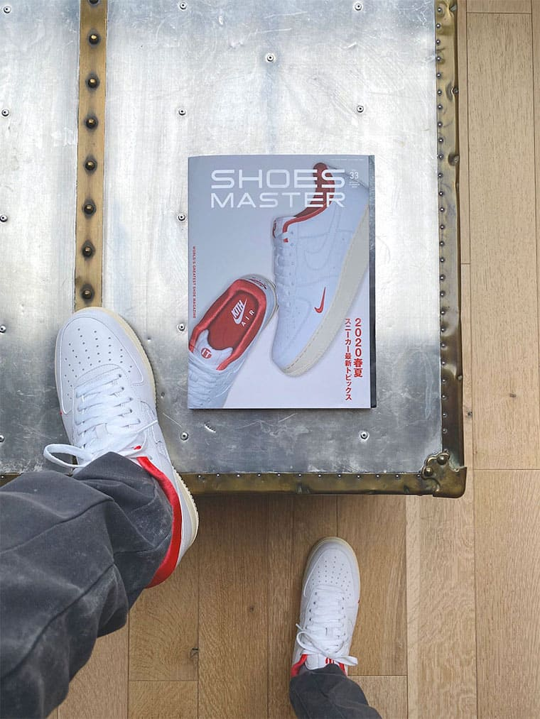 Kith Air Force 1 Low Release Japan