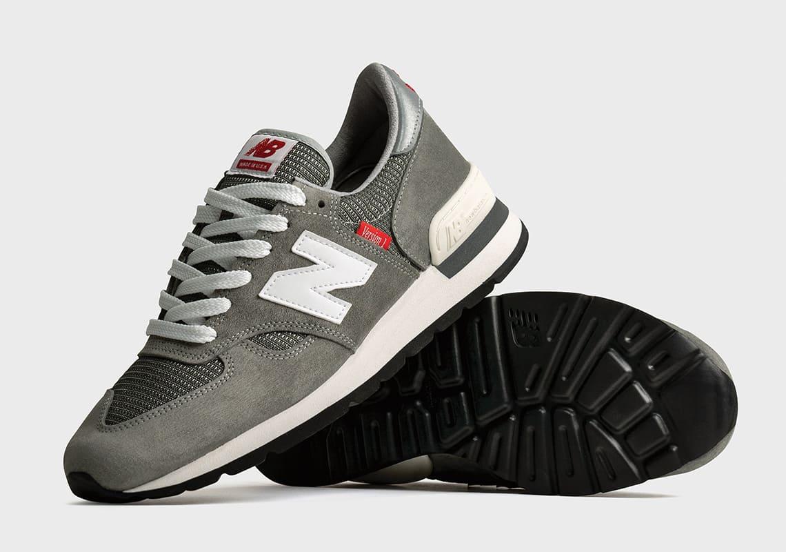 New Balance MADE 990 Version Series – NB 990 V1 Side