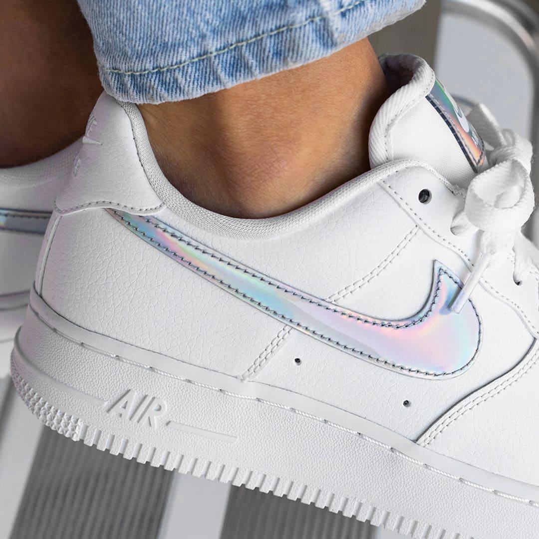 Nike Air Force 1 CJ1646-100 Frühling Sneaker für Damen