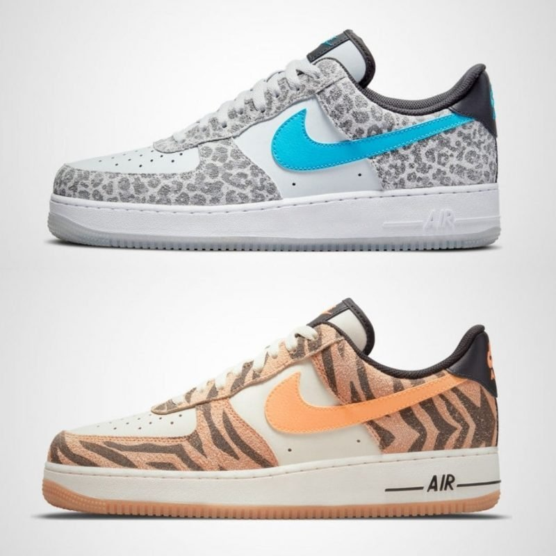 Nike Air Force 1 PRM Animal Pack DJ6192-100 DJ6192-001