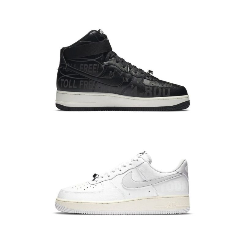 Nike Air Force 1 Toll Free Pack