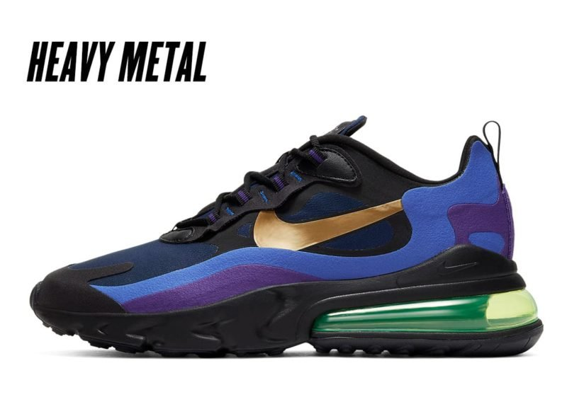 Nike Air Max 270 React Heavy Metal