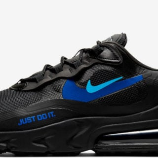 Nike Air Max 270 React Just Do It Titelbild