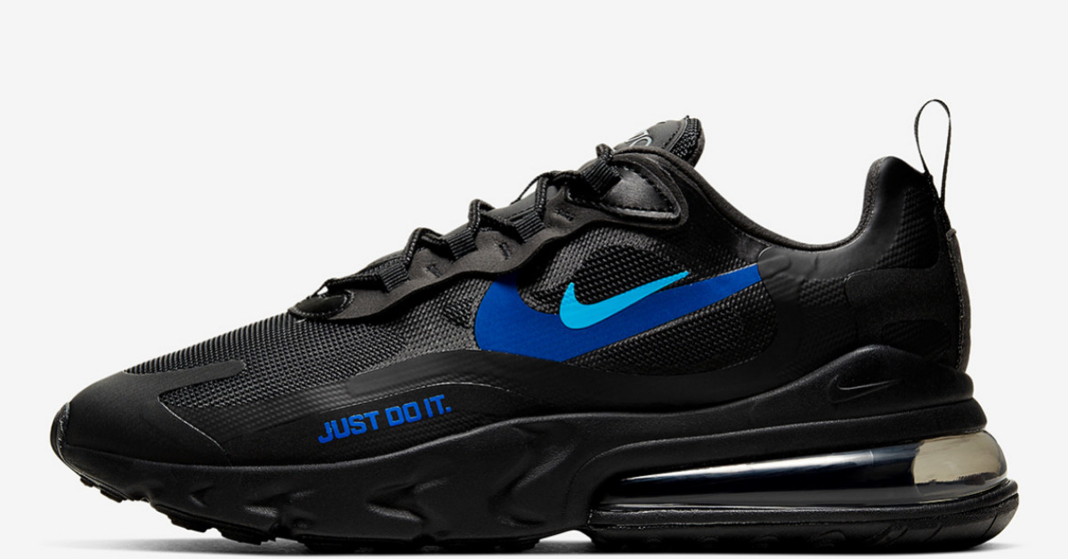 Nike Air Max 270 React Just Do It Titelbild