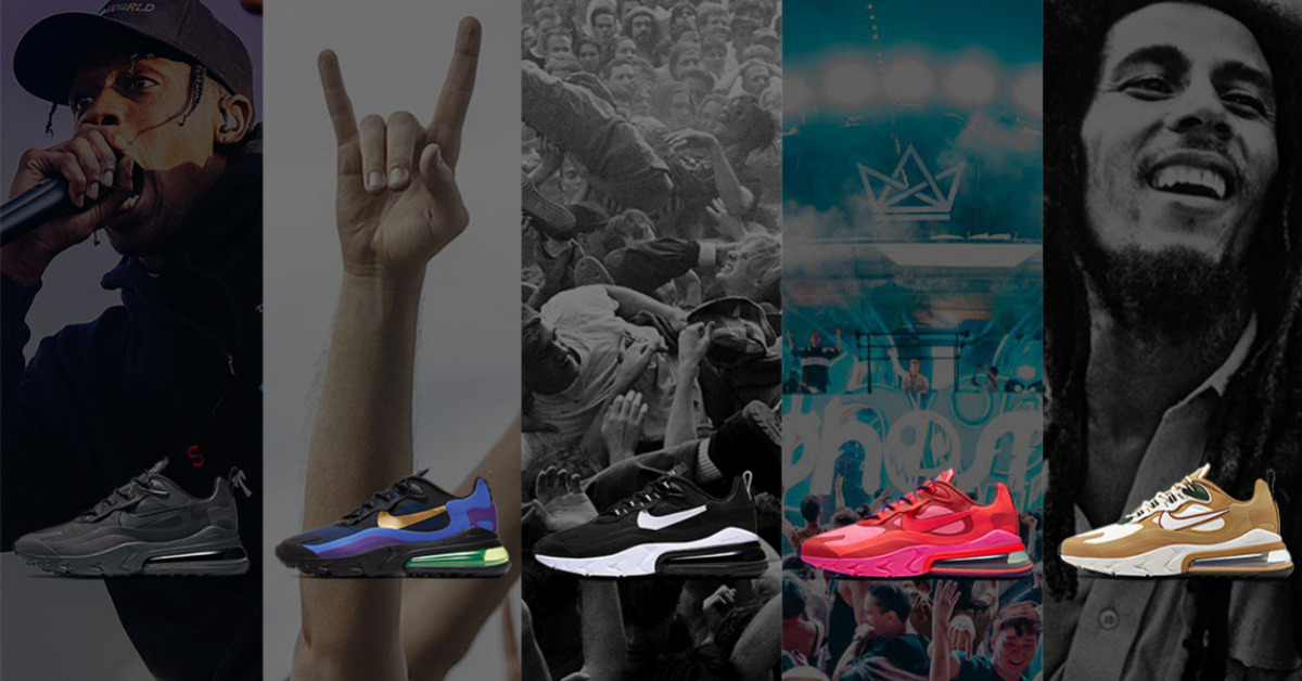 Nike Air Max 270 React Music Pack Titelbild
