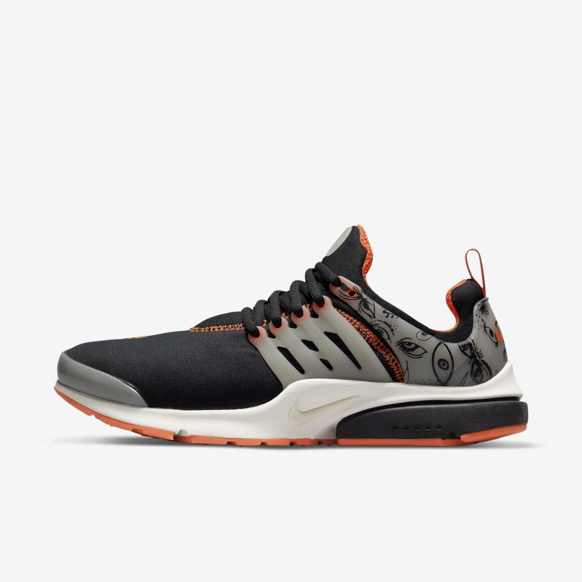 Nike Air presto Halloween DJ9568-001 Lateral