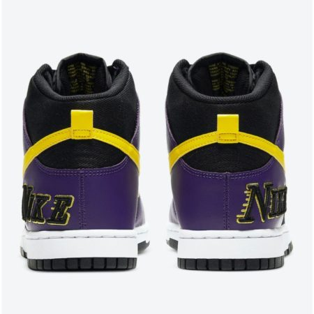 Nike Dunk High EMB Lakers DH0642-001