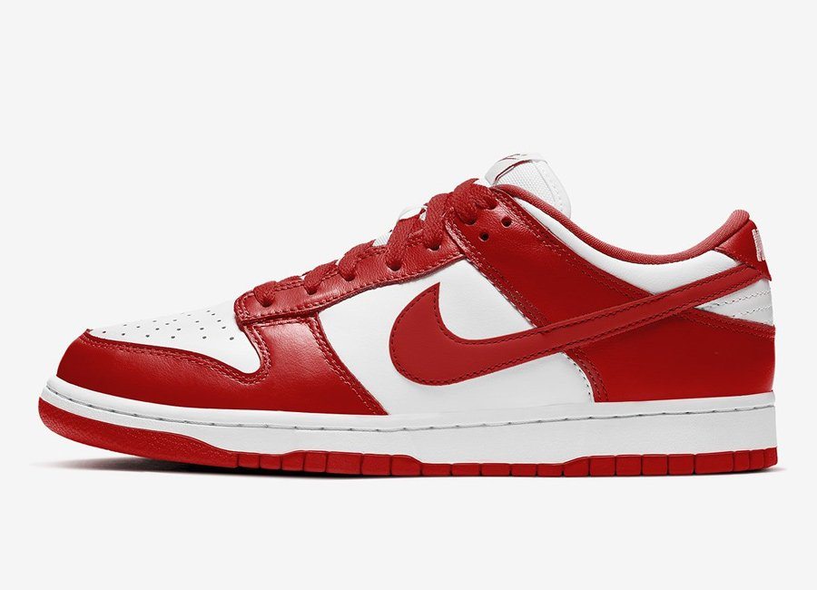 Nike-Dunk-Low-White-University-Red-CU1727-100