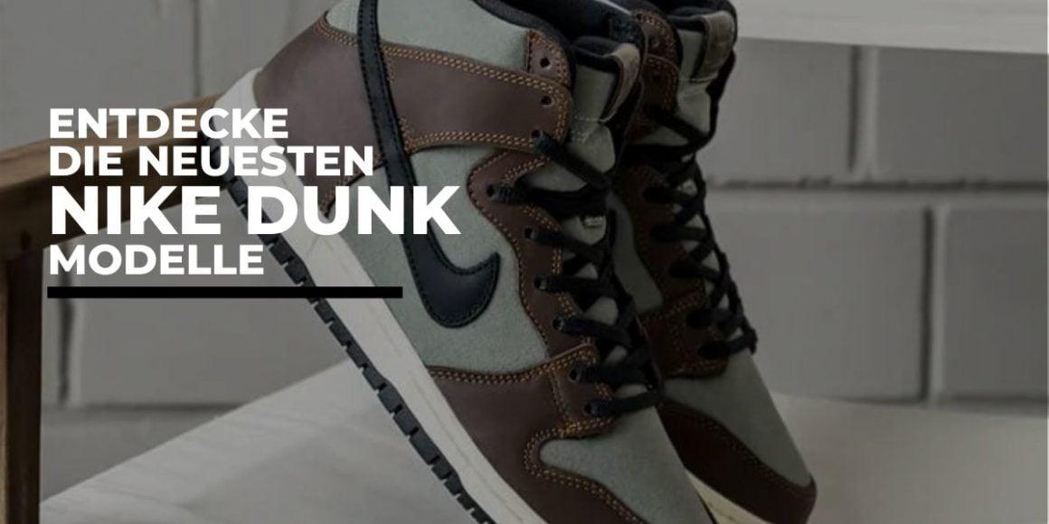 Nike-Dunk-Modell-Banner