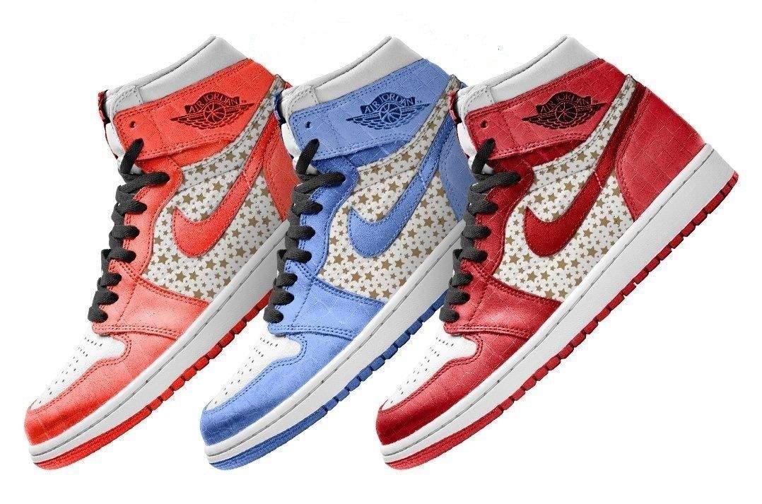 Nike Supreme x Air Jordan 1 High OG Release 2021
