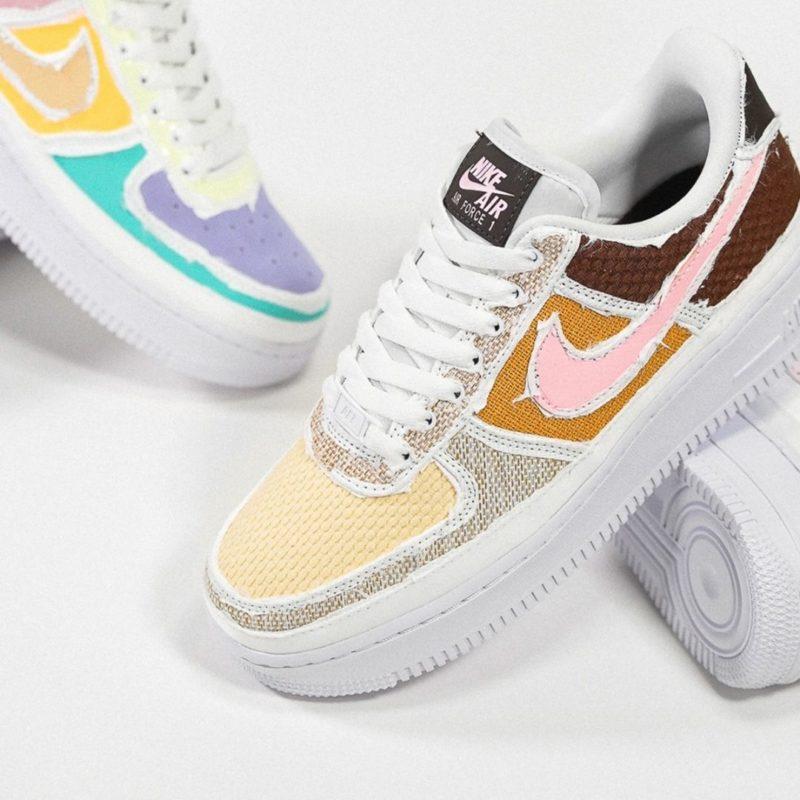 Nike WMNS Air Force 1 '07 PRM Tear Away Pack DJ6901-600 DJ9941-244