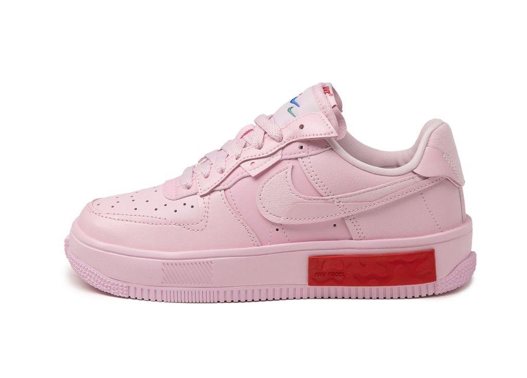 Nike Wmns Air Force 1 Fontanka Foam Pink Lateral DA7024-600