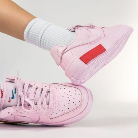 Nike Wmns Air Force 1 Fontanka Foam Pink On Feet DA7024-600