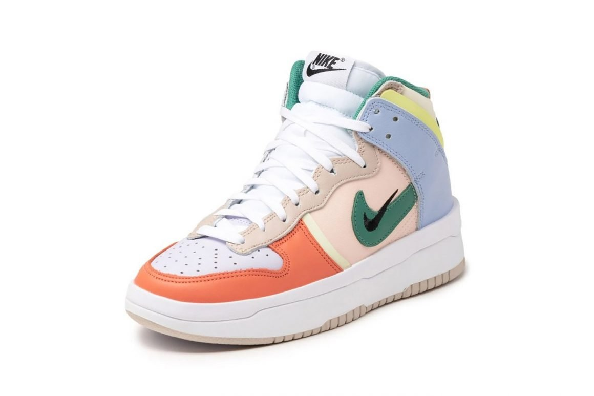 Nike Wmns Dunk High Rebel Cashmere DH3718-700 Frontal