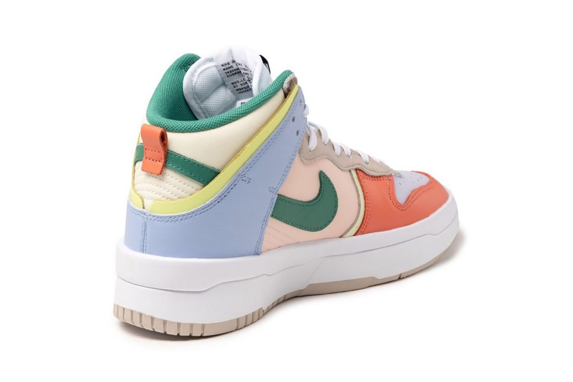 Nike Wmns Dunk High Rebel Cashmere DH3718-700 Heel