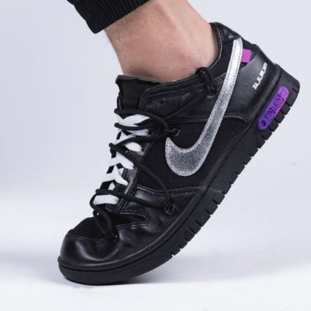 Off White x Nike Dunk Low The 50
