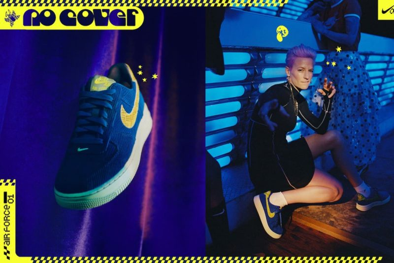 Olivia KIm Nordstrom x Nike No Cover Megan Rapinoe