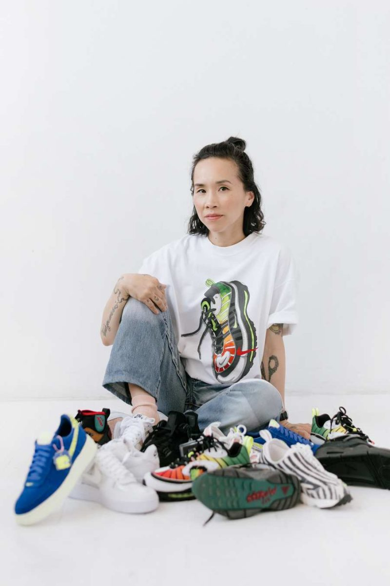 Olivia Kim Norstrom x Nike No Cover Collab