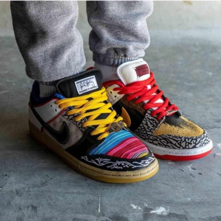 Paul Rodriguez x Nike SB Dunk Low What The P-Rod CZ2239-600