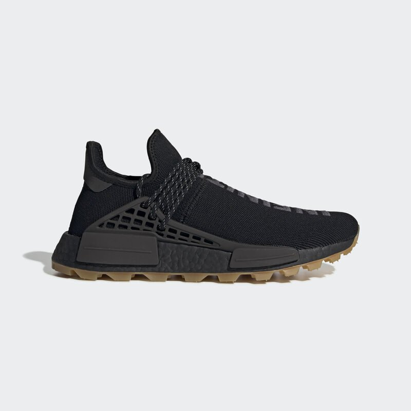 Pharrell adidas Hu NMD Black EG7836