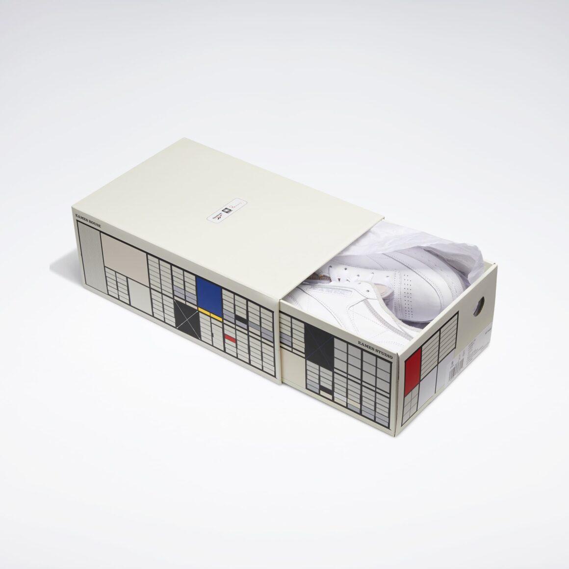 Reebok x Eames Club C Montone Pack GY1066 GY1067 Box