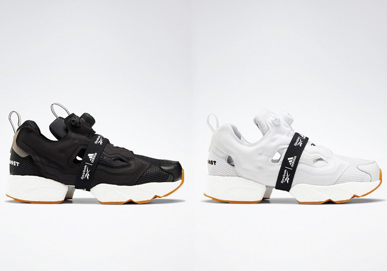 Reebok x adidas Instapump Fury Boost Black & White Pack